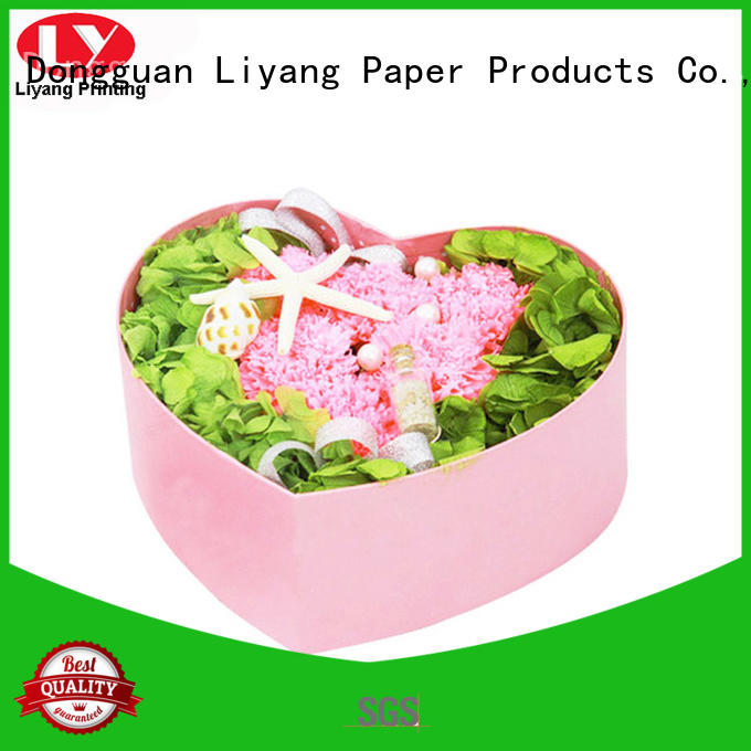 Hot round flower box gift Liyang Paper Packaging Brand