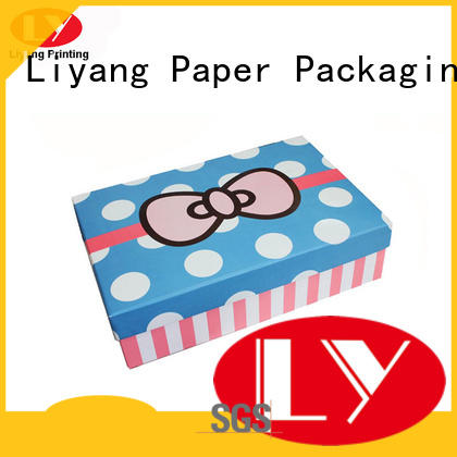 Liyang Paper Packaging collapsible custom gift boxes for bakery