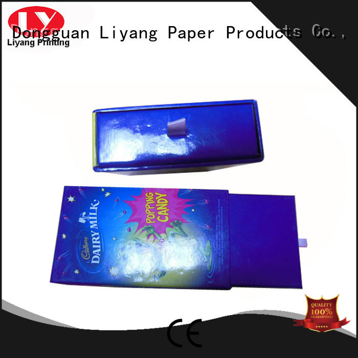 empty gift boxes base cardboard hand Liyang Paper Packaging Brand