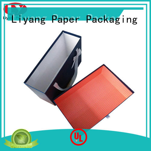 paper clothing gift boxes odm for wedding dress Liyang Paper Packaging