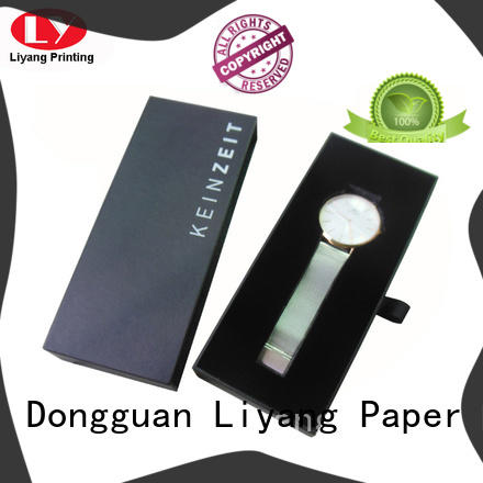 blackcustom paper jewelry boxeshinge free sample for ring