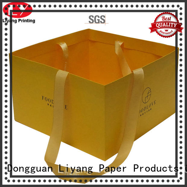design newly paper Liyang Paper Packaging Brand paper gift bags