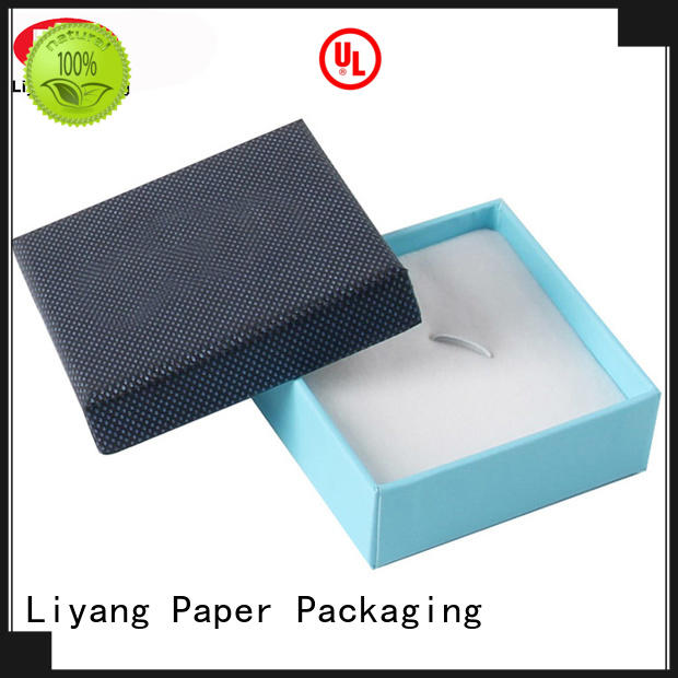 custom jewelry box packaging drawer for small bracelet Liyang Paper Packaging