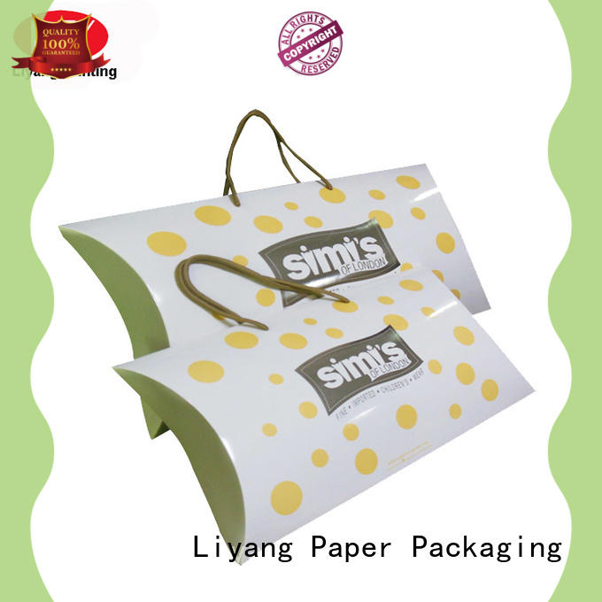 Liyang Paper Packaging pillow gift boxes for clothes oem for gift