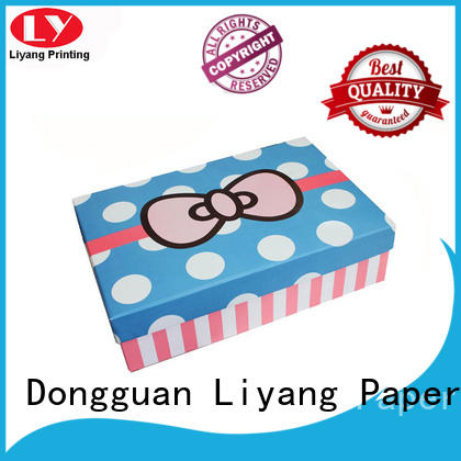 Liyang Paper Packaging colorful paper gift box popular for christmas