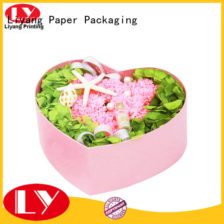 Liyang Paper Packaging cardboard flower boxes for cosmetics