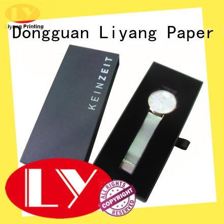 Liyang Paper Packaging custom paper jewelry boxes ODM for ring