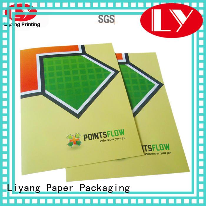 Liyang Paper Packaging folder catalog printing for wholesale for packing