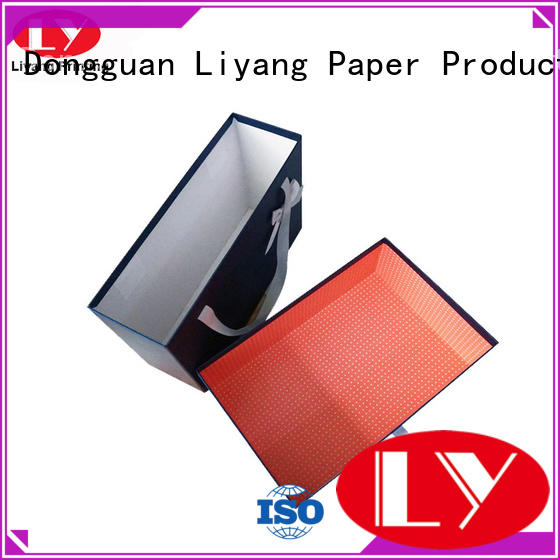 magnetic folding gift clothing paper box Liyang Paper Packaging manufacture