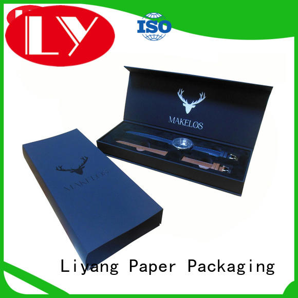 paper jewelry box foam for gift Liyang Paper Packaging