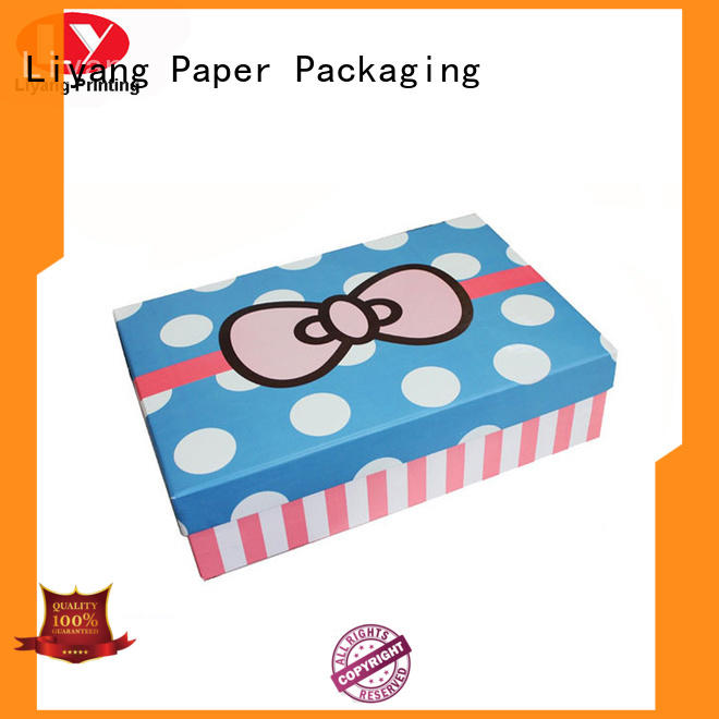 Liyang Paper Packaging collapsible quality gift boxes belt for chocolate