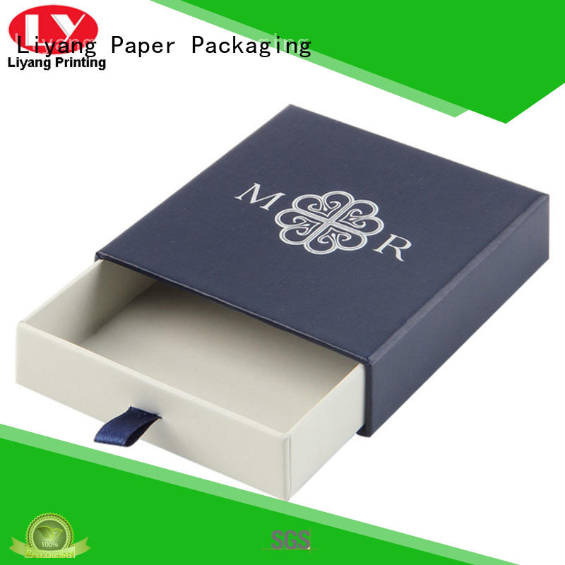 Liyang Paper Packaging luxury custom paper jewelry boxes watch for necklace