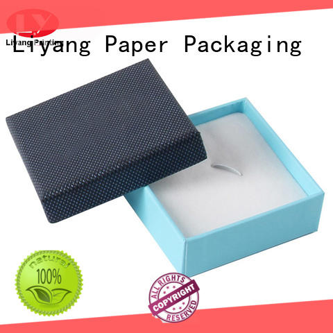 blackcardboard jewelry boxes paper ODM for gift