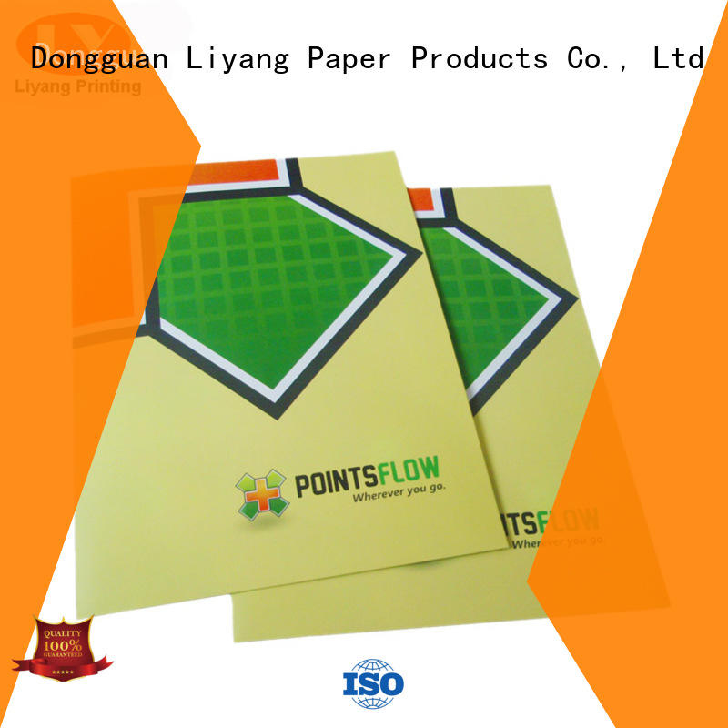 Liyang Paper Packaging free design presentation folders printing presentation for paper tag