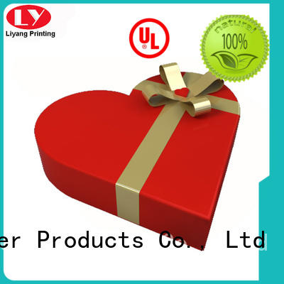 Liyang Paper Packaging made heart pyramid gift box kraft for packaging