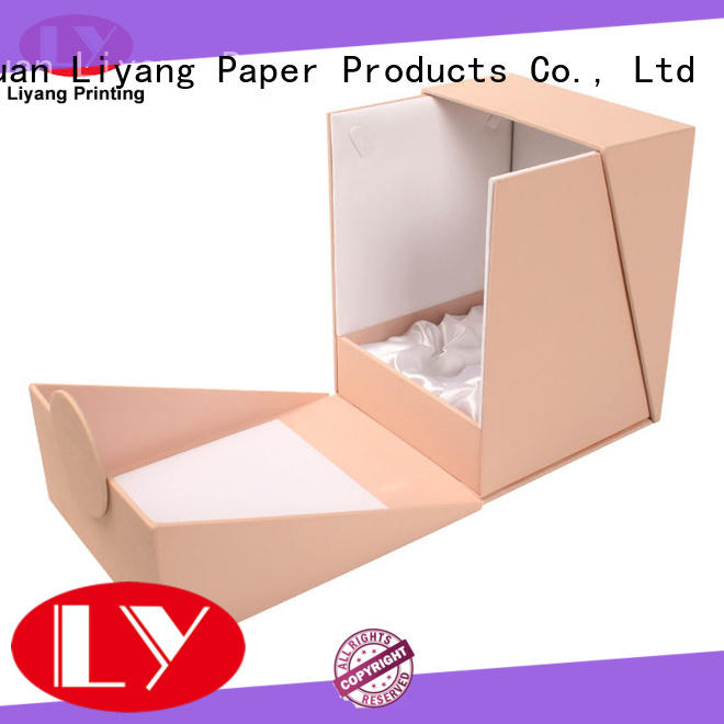Liyang Paper Packaging popular luxury cosmetic box extension for makeup