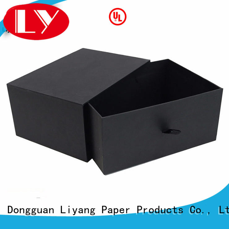 green quality gift boxes scarf for chocolate Liyang Paper Packaging