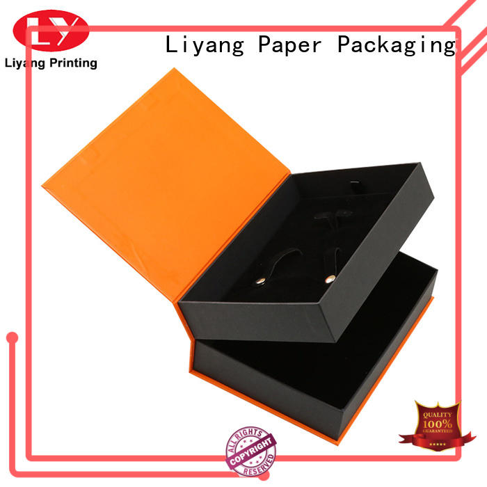 Liyang Paper Packaging size cardboard gift boxes fashion design for bakery