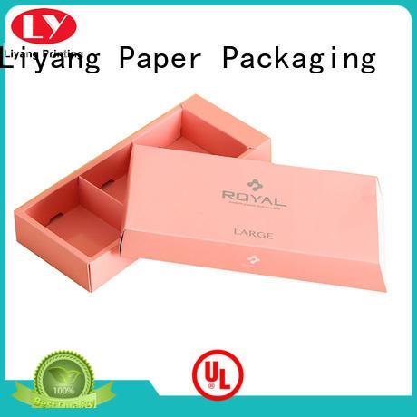 Liyang Paper Packaging environmental-friendly custom food boxes red for food