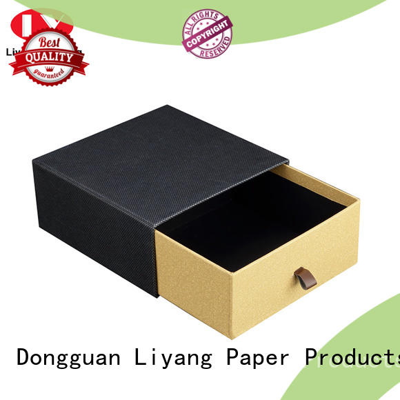 Liyang Paper Packaging white empty gift boxes fast delivery for chocolate