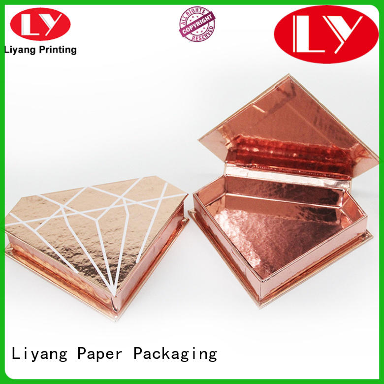 luxury paper box for cosmetic for wholesale for brush Liyang Paper Packaging