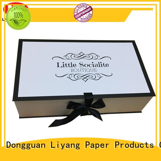 Liyang Paper Packaging drawer custom clothing packaging custom logo for packaging