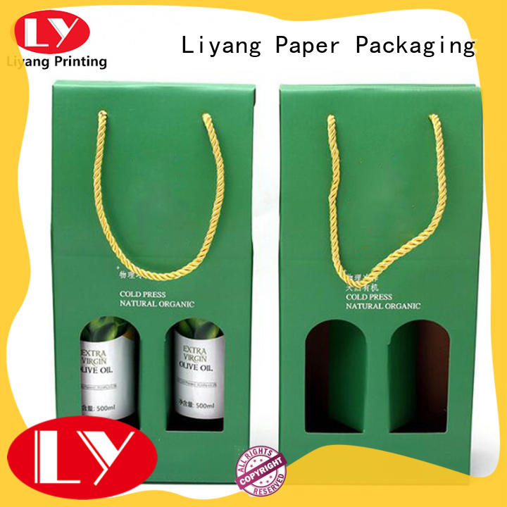 Liyang Paper Packaging paper wine box high quality for gift