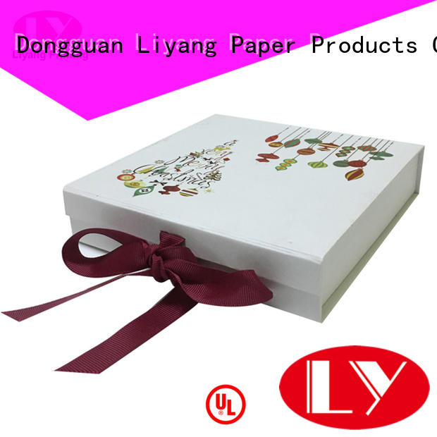 newly cardboard gift boxes with lids popular for bakery Liyang Paper Packaging