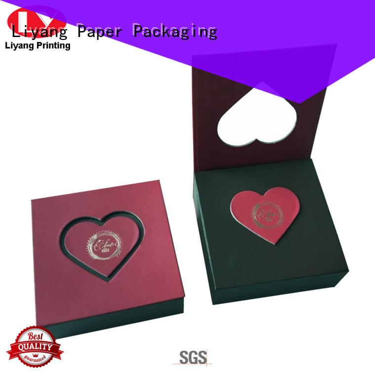 Liyang Paper Packaging printed food packaging companies free sample for chocolate