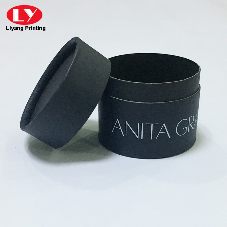 black tube box with lid-5