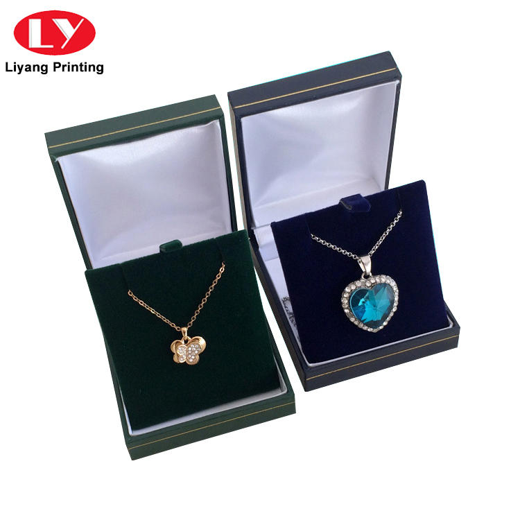 Personalized Recycled Luxury Necklace Jewelry Gift Packaging Box