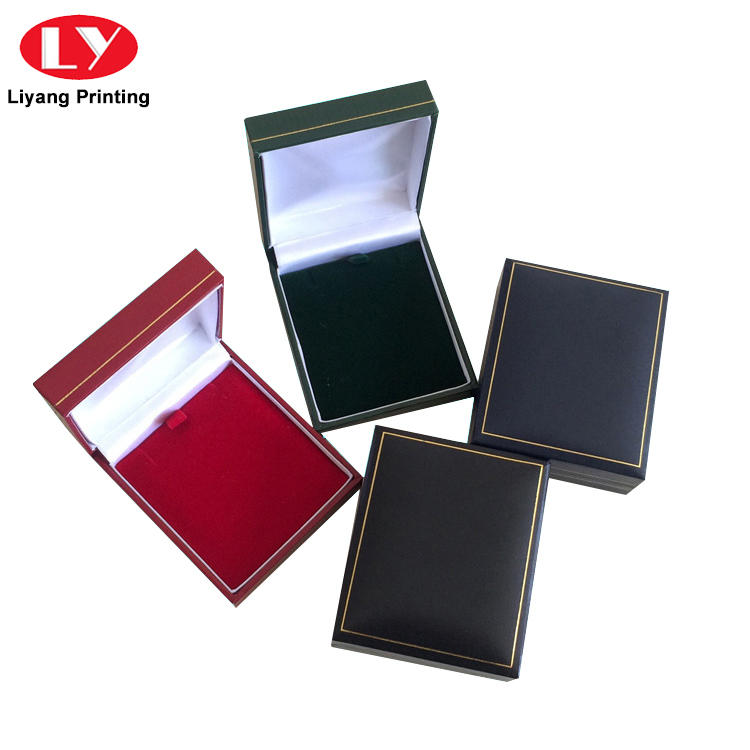 Liyang Paper Packaging luxury cardboard jewelry packaging foam for necklace