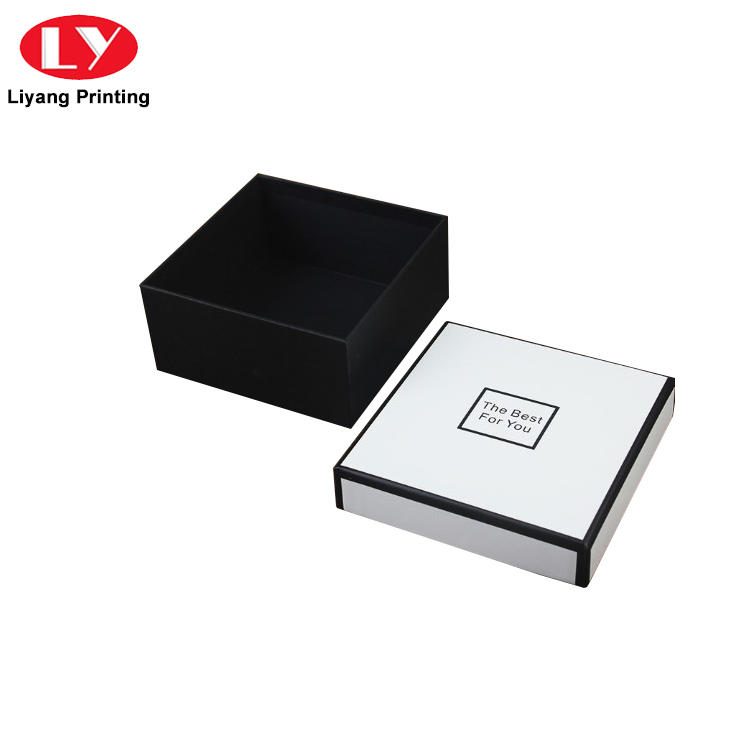 Custom Luxury Fashion Rigid Cardboard Paper Gift Box With Lid