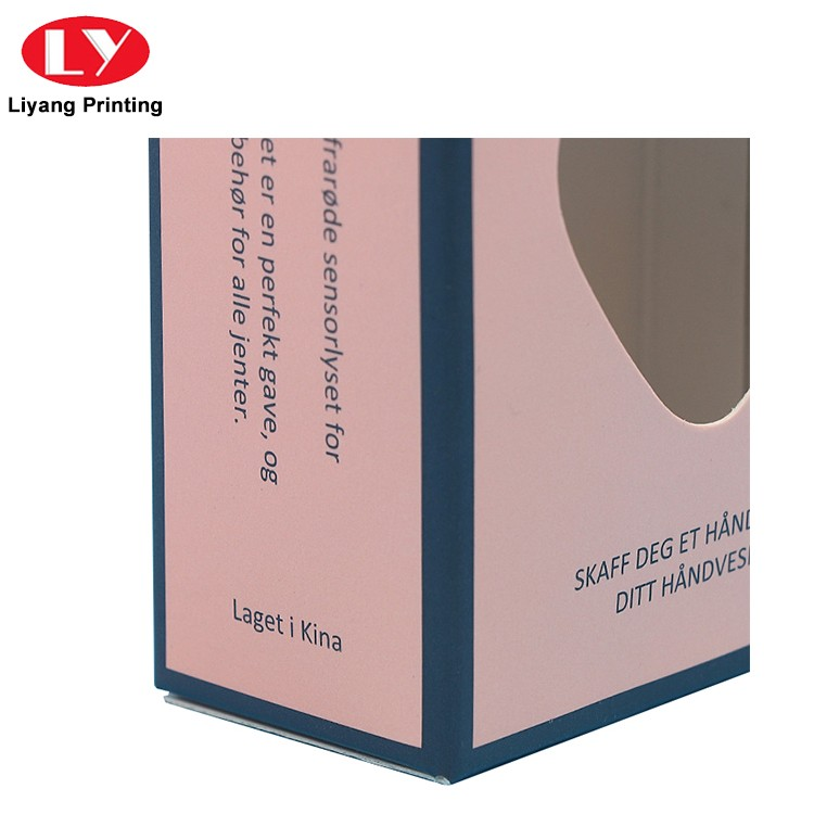 Liyang Paper Packaging purple cosmetic paper box high quality for nail polish-4