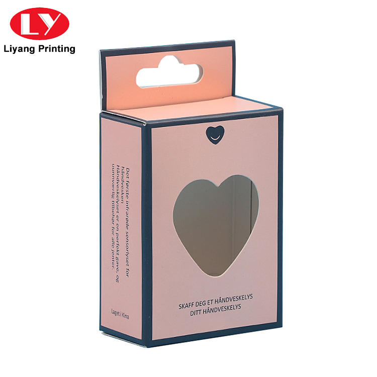 Liyang Paper Packaging black luxury cosmetic box board for packaging