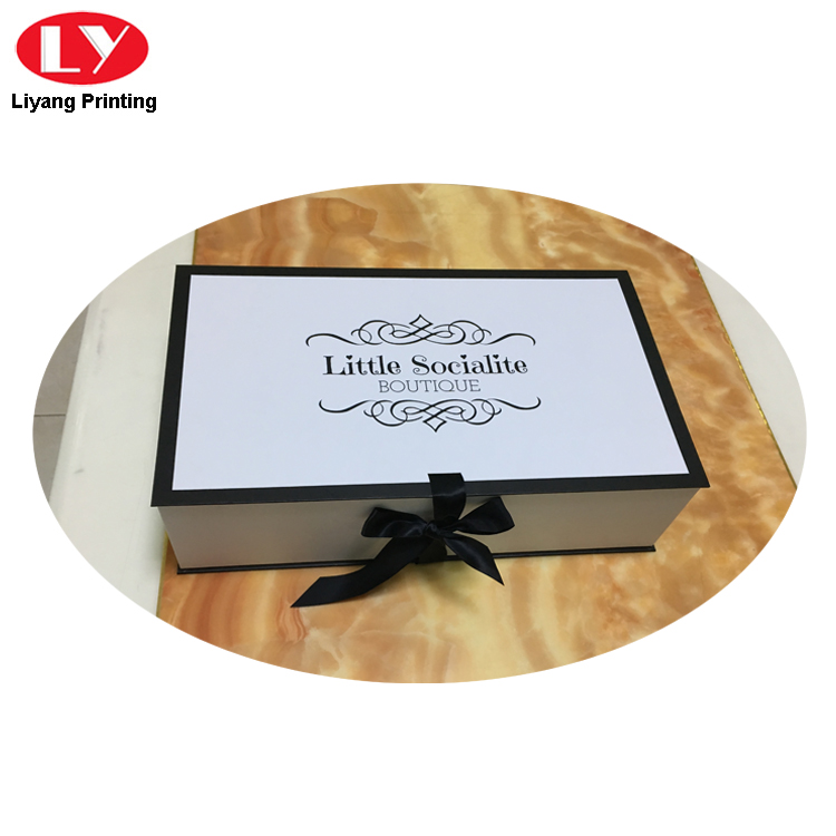 double clothing packaging box custom logo for christmas Liyang Paper Packaging-5
