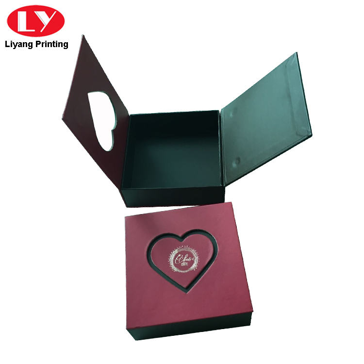 sanitary food packaging box red free sample for display-5
