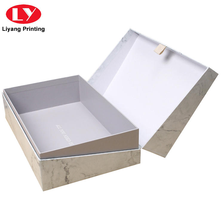 Luxury high quality custom logo printing cosmetic packaging box