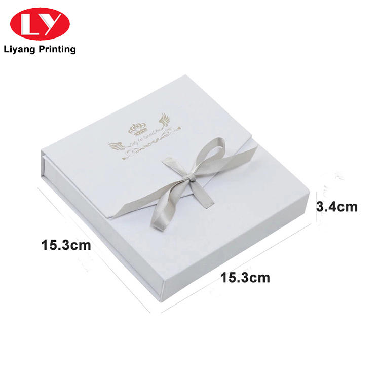 recycled jewelry paper box at discount for small bracelet Liyang Paper Packaging