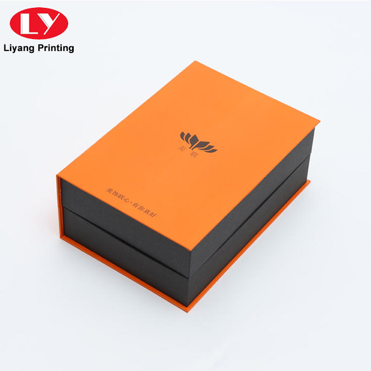2019 New Design Luxury Brand Logo Printing Paper Gift Packaging Box