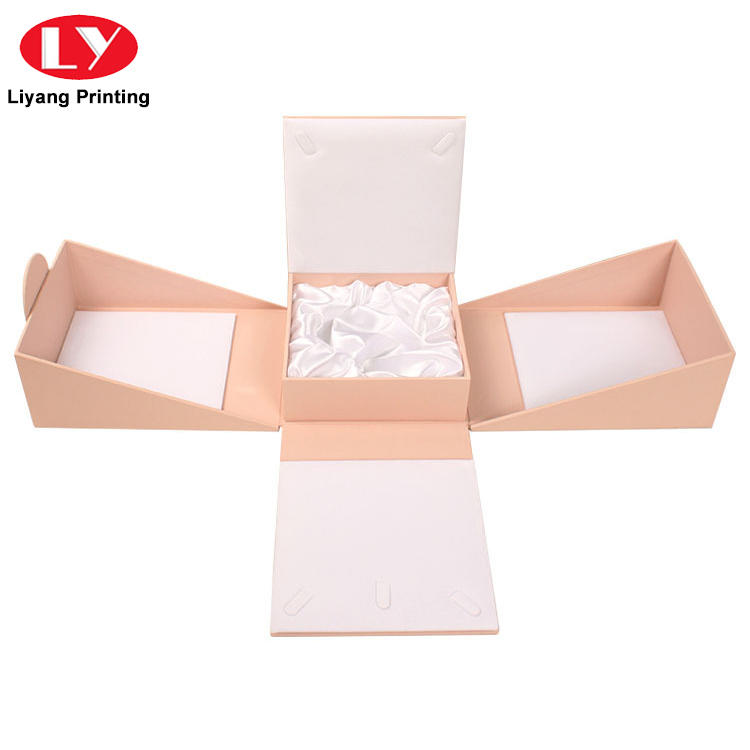 Liyang Paper Packaging clear window makeup packaging boxes factory price for brush