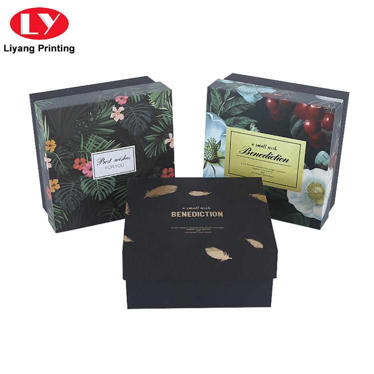Manufacturer Handmade Small Paper Cardboard Gift Box with Lid