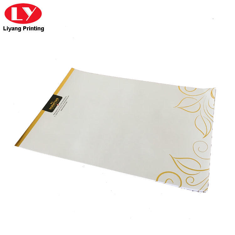 two pockets A4 paper folder factory price wide application Liyang Paper Packaging