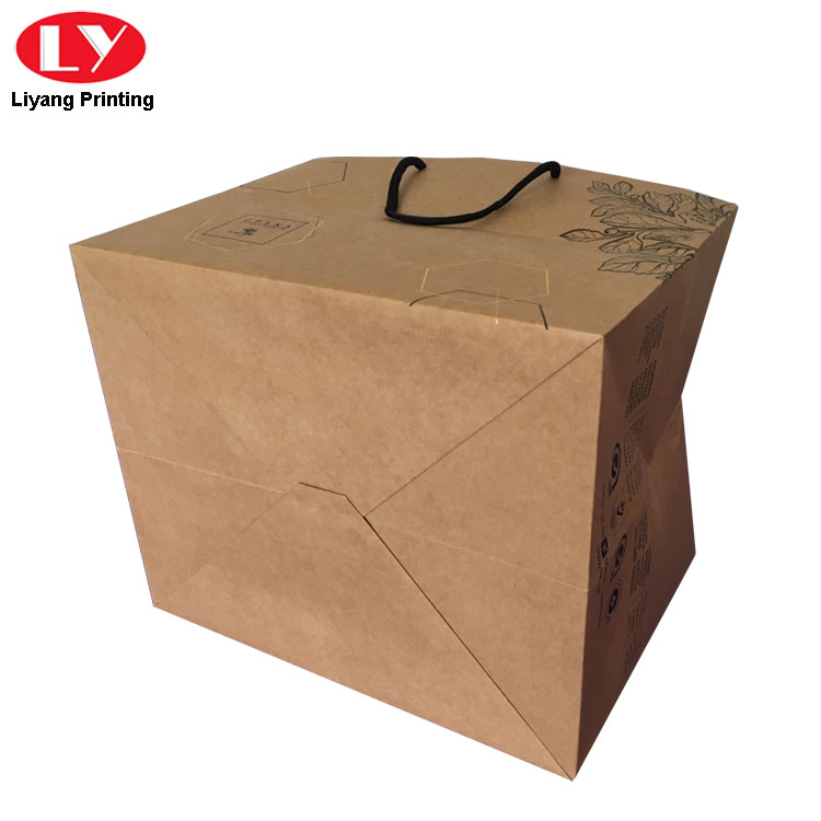Liyang Paper Packaging logo printed recycled paper bags free sample for lady-4