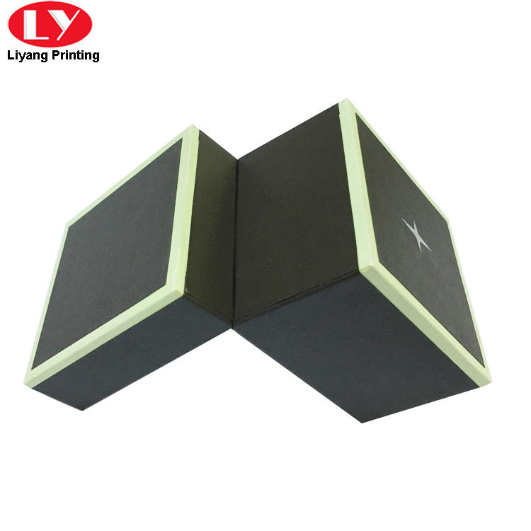 Liyang Paper Packaging black paper jewelry box ODM for necklace