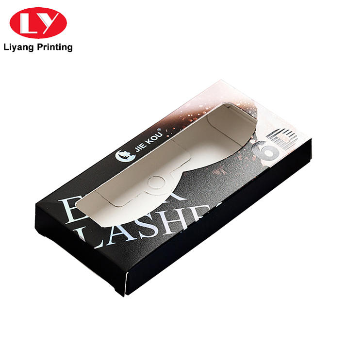 Coated Art Card Custom False Eyelash Paper Packaging Box Manufacturer