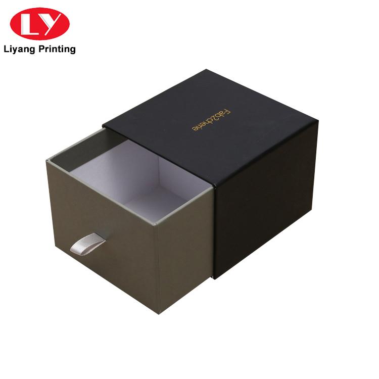 China Manufacturer Elegant Cardboard Paper Sliding Drawer Box for Gift Packing-4