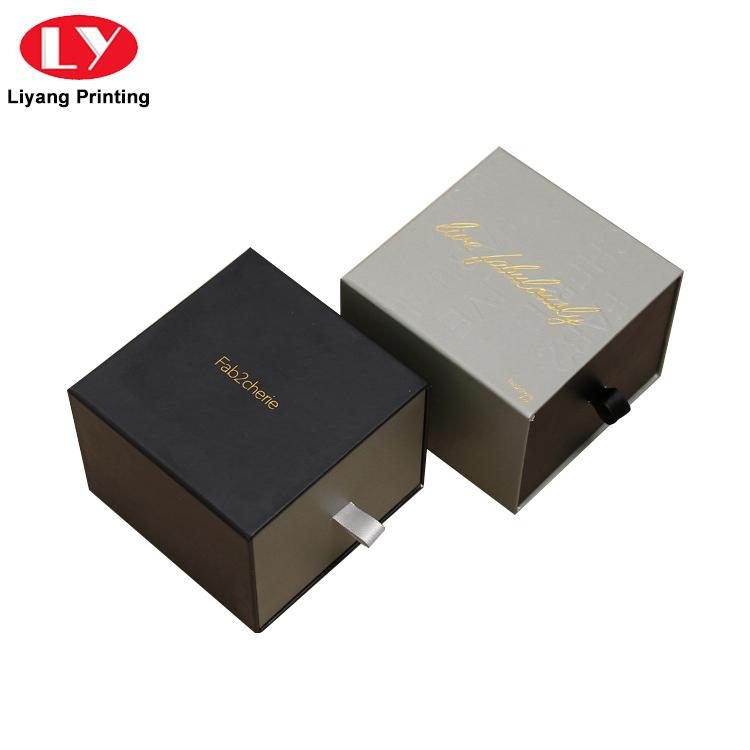 China Manufacturer Elegant Cardboard Paper Sliding Drawer Box for Gift Packing-7