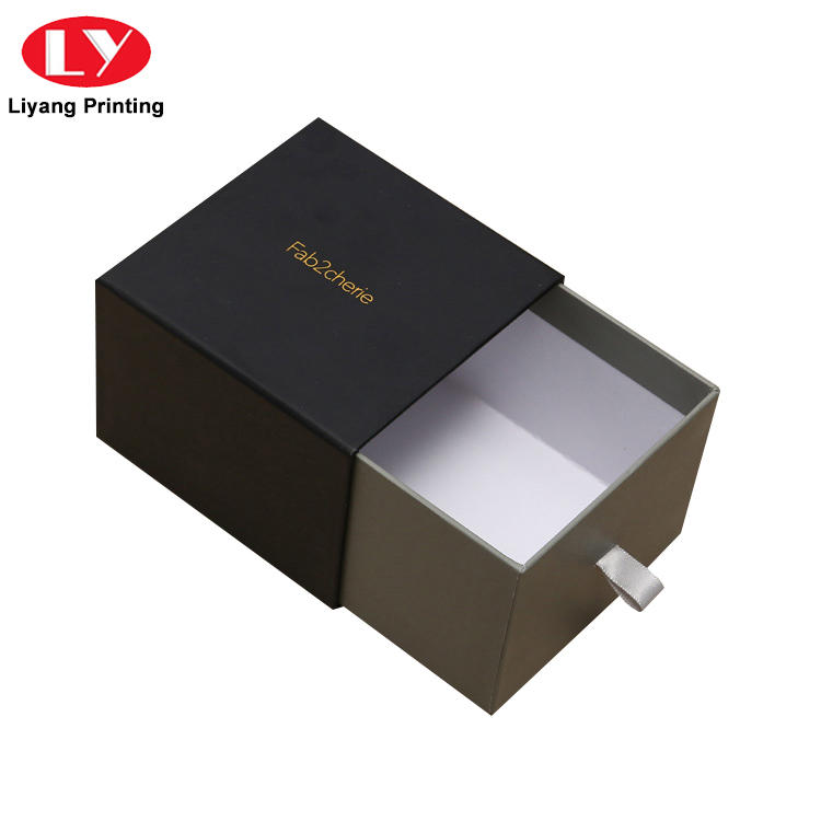 China Manufacturer Elegant Cardboard Paper Sliding Drawer Box for Gift Packing