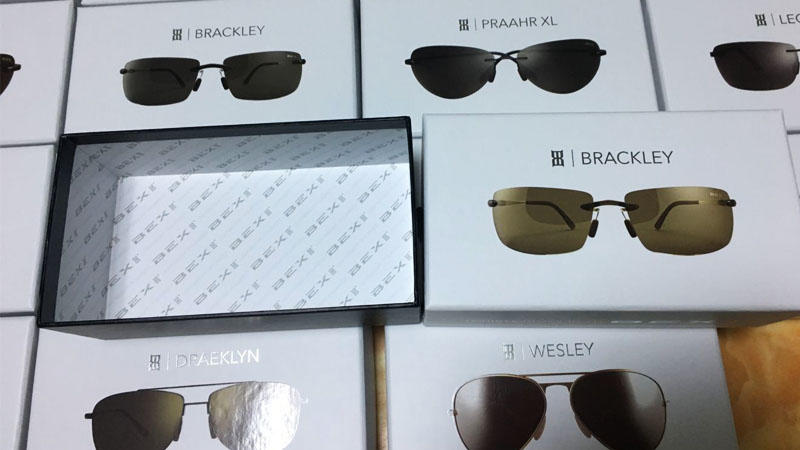 Handmade Sunglasses Gift Box Packaging and Export Packaging